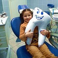 Уход за зубками